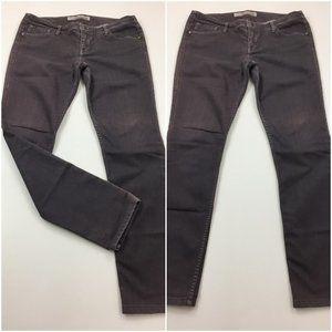 LEVEL 99 Anthropologie Gray Purple'ish Skinny Jean